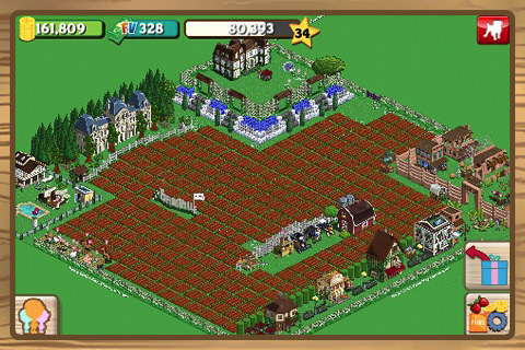 Farmville för iPhone
